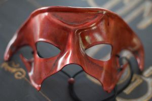 Demon Handmade Leather Mask by OsborneArts