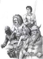 Golden Axe Tribute by NeoWorm
