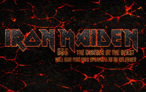 Iron Maiden - magma logo by croatian-crusader