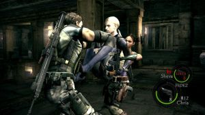'Fighting' with Jill by LadyNaginiWesker
