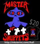 Master of Shuppets shirt is BACK by JHALLpokemon