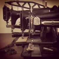 A few sewing machines  by Marcusstratus