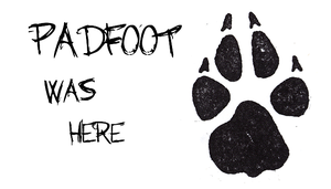 Padfoot Was Here by Harry-Potter-Addict