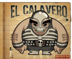 El Calavero by Nacher