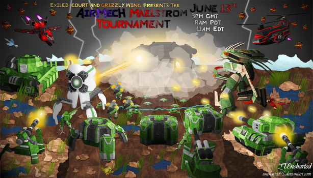 Airmech Maelstrom tournament by Uncharted95