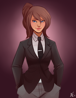 Classy Avatar by spittfireart