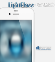 LightGlass iPhone 4/S Wallpaper by x4ct1on