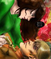 Hannibal - Alana and Hannibal by FuriarossaAndMimma