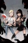 Xena and Buffy by JeremyColwell