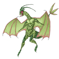 Art Trade: Flygon by VintageSoap