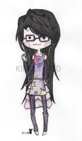 Chibi Girl (request) ... by Devil1114