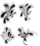 Ornate Brushes by kingshanno