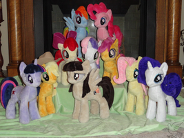 My Herd is Ready For the Con on Saturday by WhiteDove-Creations