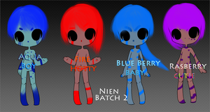 CLOSED - Reuploaded Nien Adopt Batch 2 by AcidicAdopts