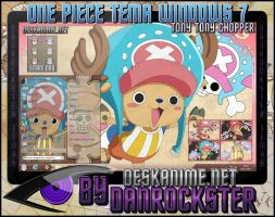 Tony Tony Chopper Tema Windows 7 by Danrockster