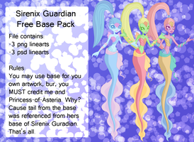 Sirenix Guardians Base by Christie22