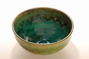 inside ocean blue bowl by Recycled-Oxygen