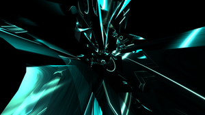 Abstraction In Blue 1 by SimpleGFX