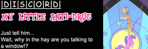 My Little Anti-Drug: Discord by shadesmaclean