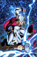 Thor by Ben Jones-Colored by SplashColors