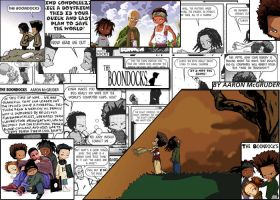 The Boondocks Composition by Dillo64