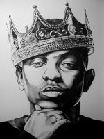 Kendrick Lamar by youbesonicimtails