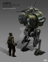 Radio-Controlled Recon Bot by freakyfir