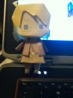 OH YA I'M DA HERO!: America Paper Craft by ThatNekohacker