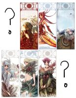 bookmarks 1 by bluefeathers