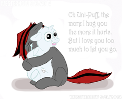 When Even Hugs Hurt by Westernciv