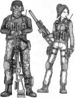 BF 3 Russian Recon class by ThomChen114