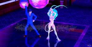 Felicia and Phoenix Wright: Disco Fever! by NekoHybrid