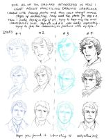 Trying to draw sherlock by TashinaJacob