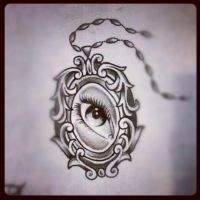 eye locket by DisabledAsianPenis