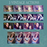 Vintage Action Set by TheSpiffers