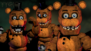 Withered Freddy Fixed Model 2.0 by YinyangGio1987