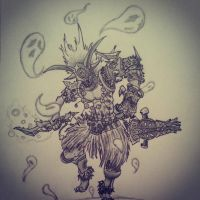 Bwana the Witch Doctor by danventuretime