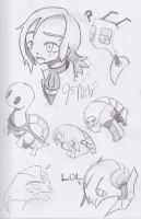 Sketch - Sketchy Page of Sketchyness by Unit957