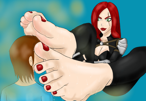 Katarina Foot Smelling by BSFLove