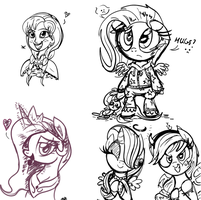 Compilation of Random Sketches by Daniel-SG