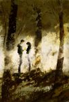 A golden leaf. by PascalCampion