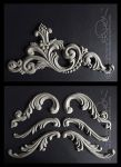 WOODWORK: ORNAMENTIK / VOLUTES by b-Dedi