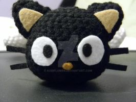 Chococat amigurumi by nabiflower