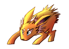 Jolteon by sweating