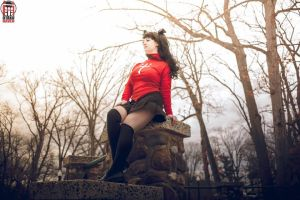 Rin Tohsaka - Winter by Lily-in-Leather
