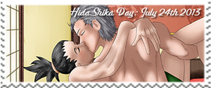 HidaShika Day 2013 Stamp by Gingersnap87