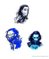 Loki Sketches by Tavoriel