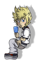 .:Roxas:. by Foreveryoung8