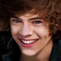Harry Styles- One Direction- DRAWING by AngelNightmare1441