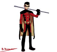 Tim Drake by SomeShortGuy
